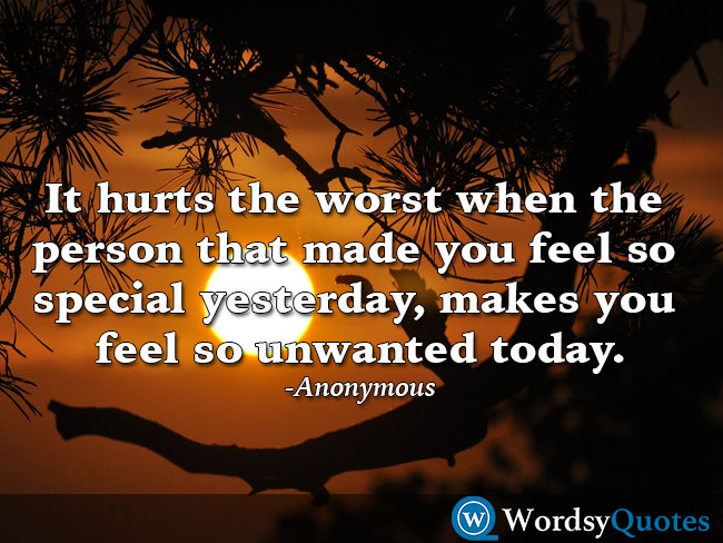 Anonymous sad quotes