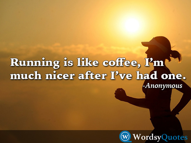 Anonymous running sports quotes