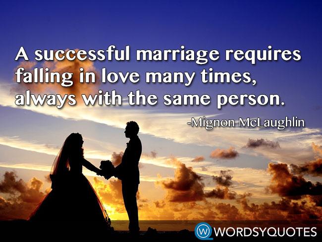 mignon mclaughlin marriage love quotes