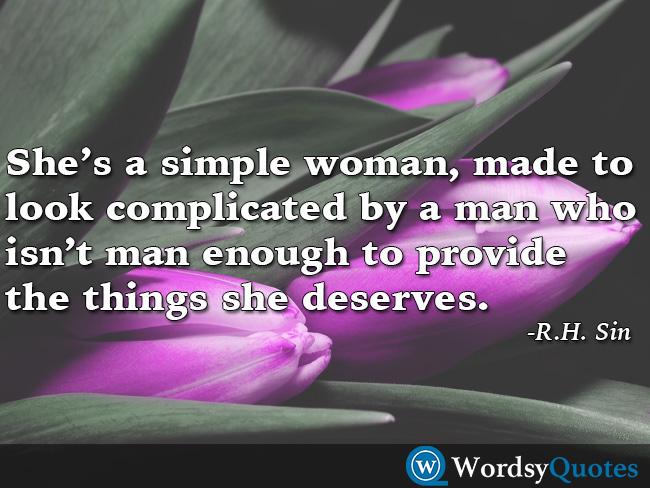 R.H. Sin women quotes