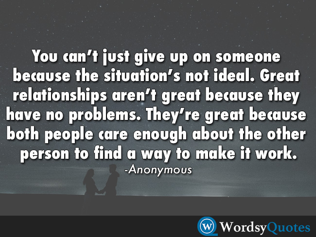 anonymous relationship quotes