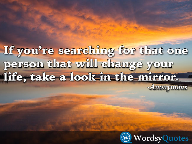 Anonymous mirror success motivational quotes