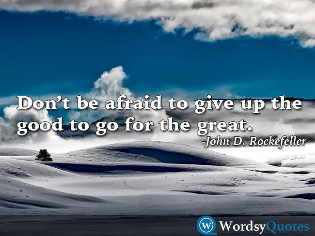 John D. Rockefeller success quotes