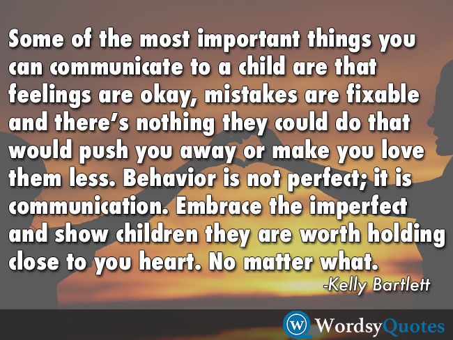 Kelly Bartlett parenting quotes