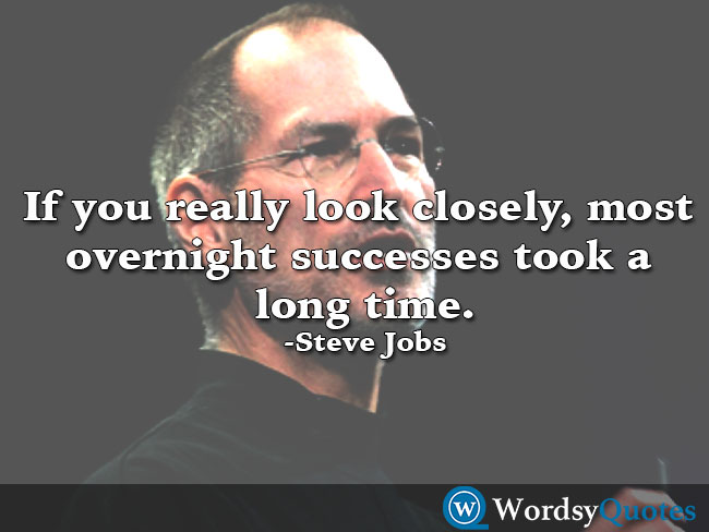 Steve Jobs - success quotes