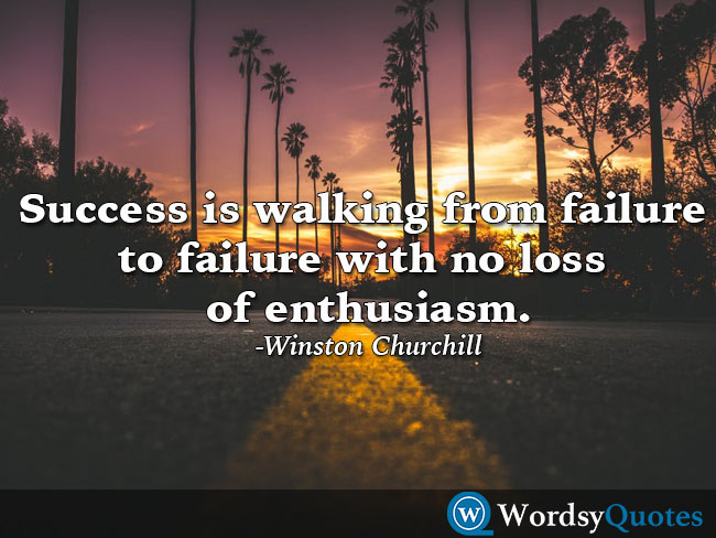 winston churchill success quotes