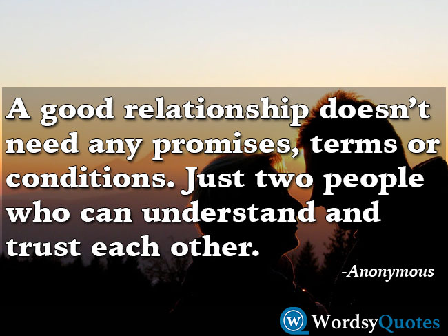 Relationship Quotes - Anonymous