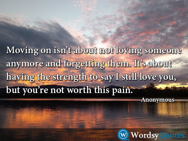 wordsyquotes movingon moving on quotes