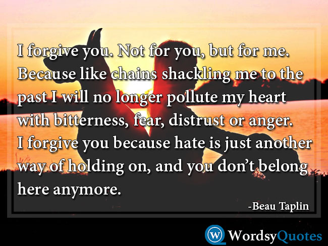 Beau Taplin movingon moving on quotes