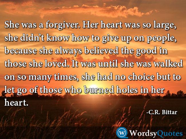 C.R. Bittar sad quotes
