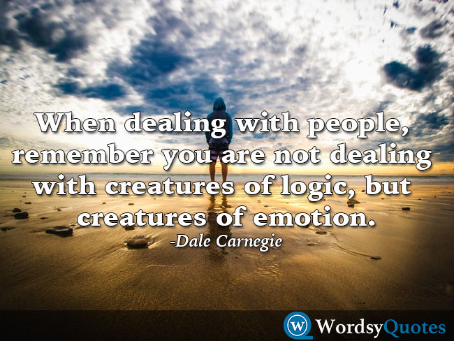 Dale Carnegie relationship quotes