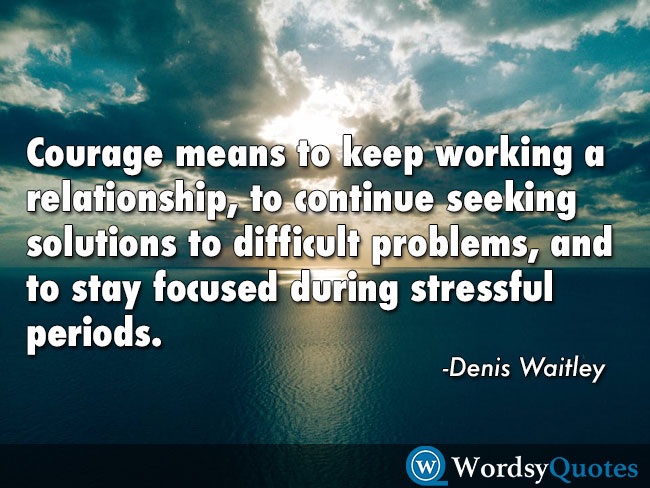 Denis Waitley relationship quotes