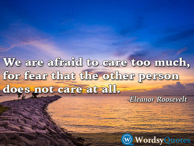 Eleanor Roosevelt relationship quotes