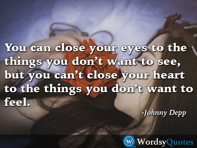 Johnny Depp Sad Quotes