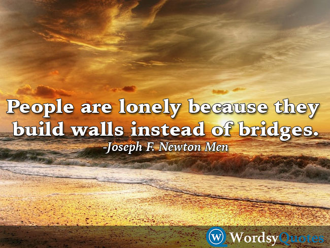Joseph F. Newton Men - relationship quotes
