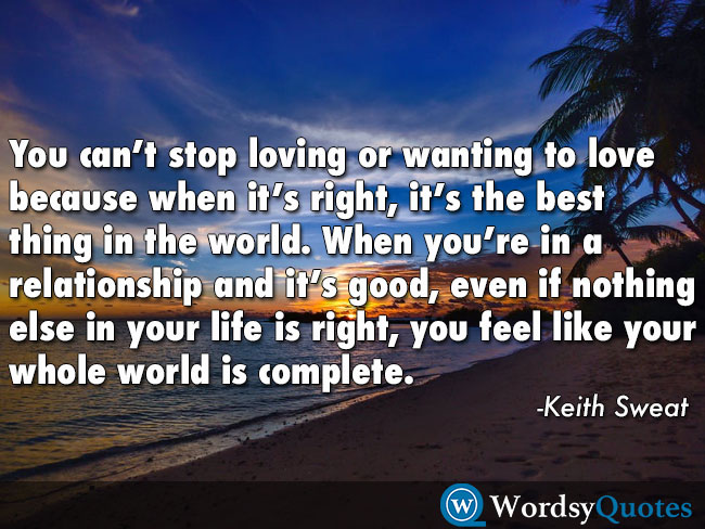 Keith Sweat relationship quotes