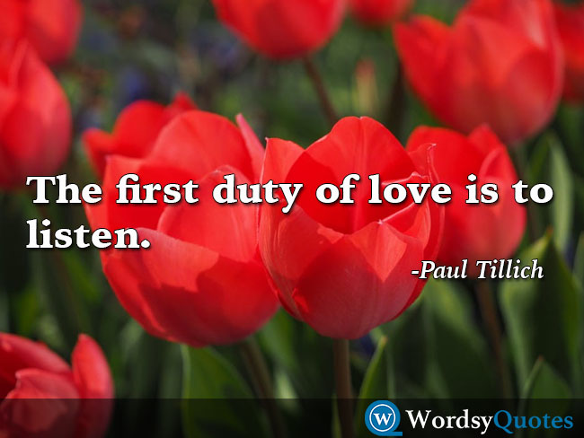Paul Tillich love quotes