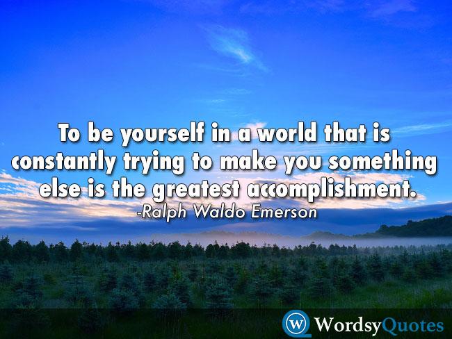 Ralph Waldo Emerson Motivational quotes