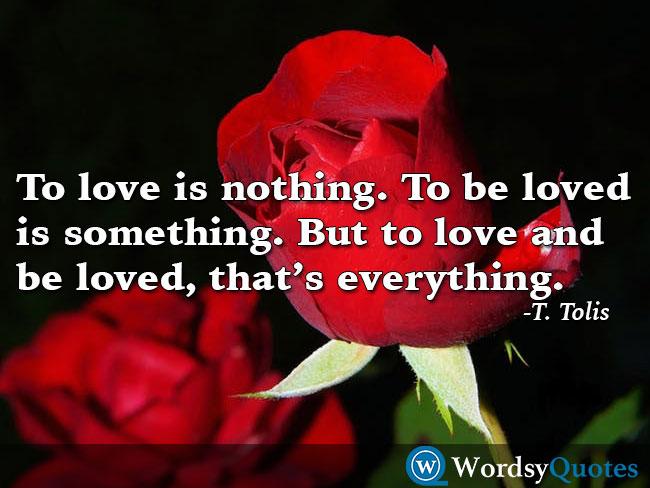 T. Tolis love quotes
