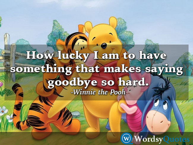 Winnie the Pooh - relationship quotes