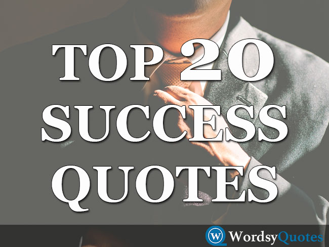 Top 20 Famous People Success Quotes in Overcoming Failure
