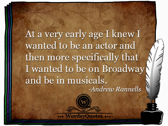 Andrew Rannells - artist or age quotes