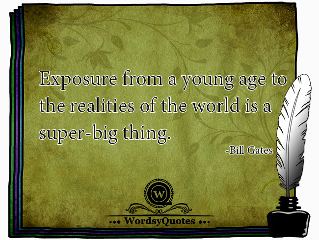 Bill Gates - age quotes