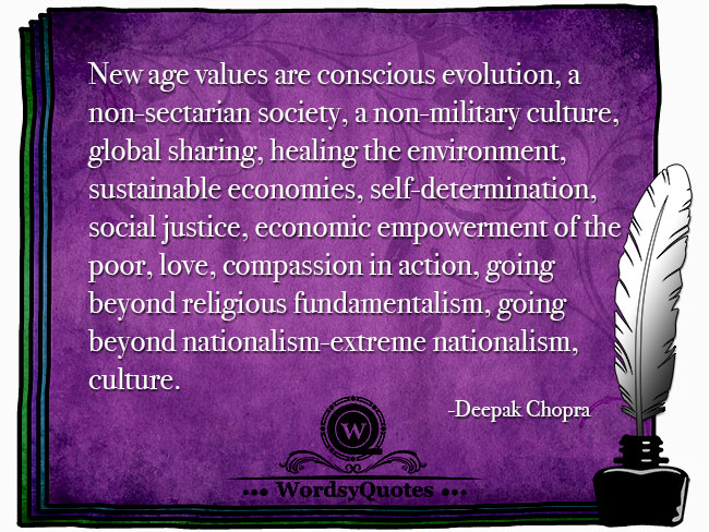 Deepak Chopra - age or culture quotes