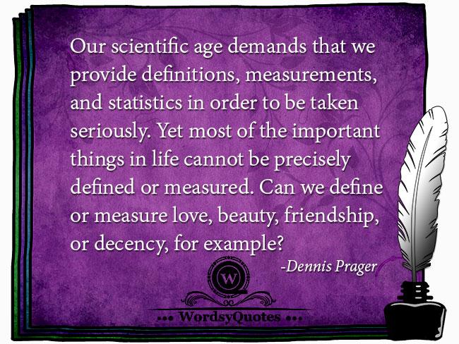 Dennis Prager - age quotes