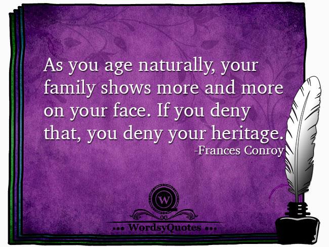Frances Conroy - age quotes