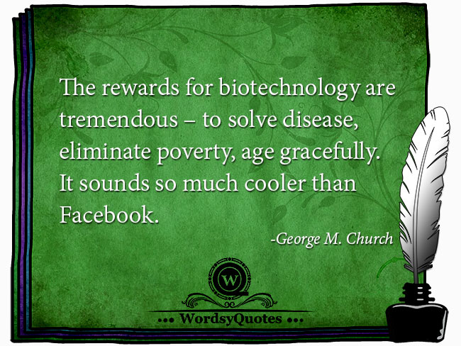George M. Church - age quotes