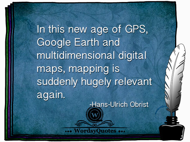 Hans-Ulrich Obrist - age technology quotes