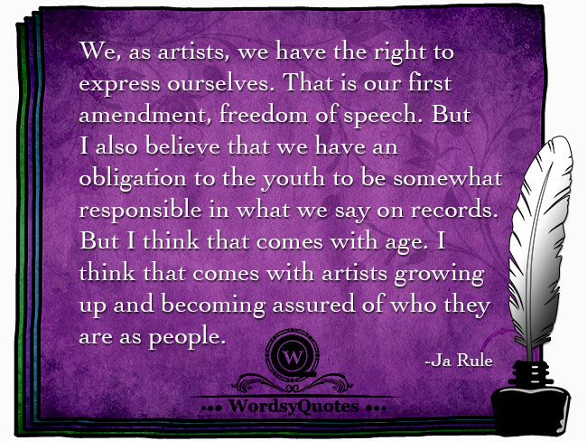 Ja Rule - age quotes