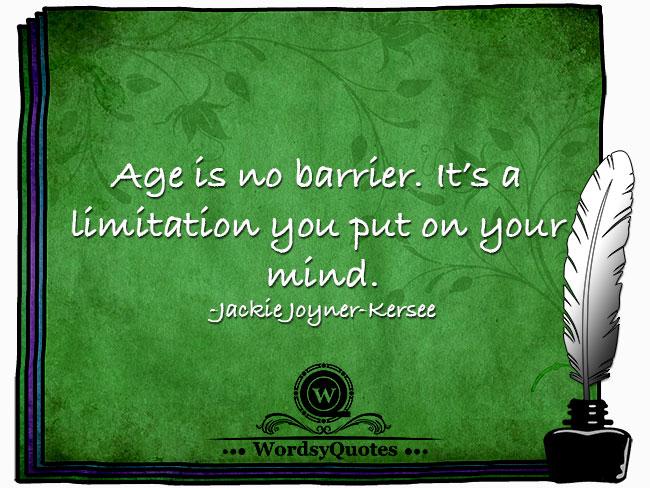 Jackie Joyner-Kersee - age quotes