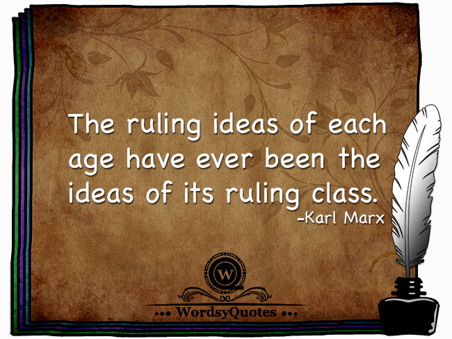 Karl Marx - age quotes