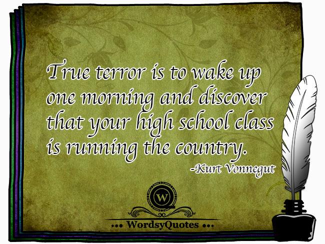 Kurt Vonnegut - age quotes