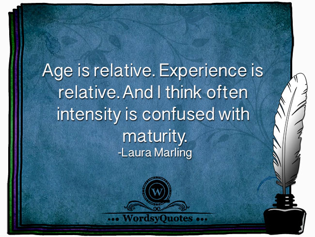 Laura Marling - age quotes