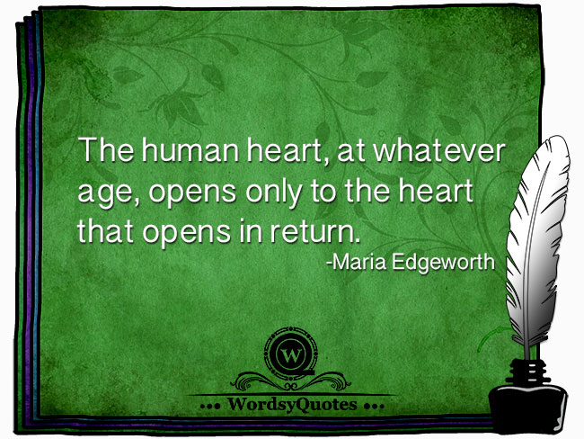 Maria Edgeworth - age quotes