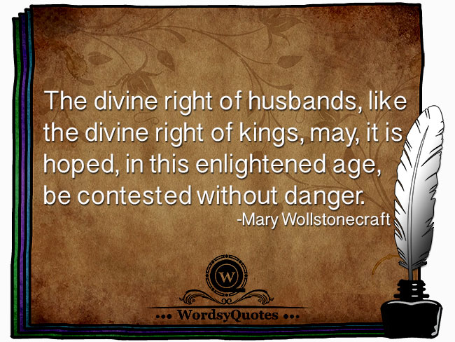 Mary Wollstonecraft - age quotes