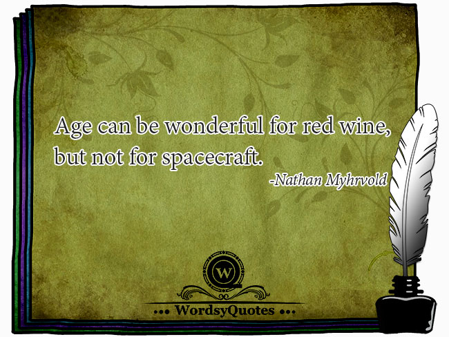 Nathan Myhrvold - age quotes