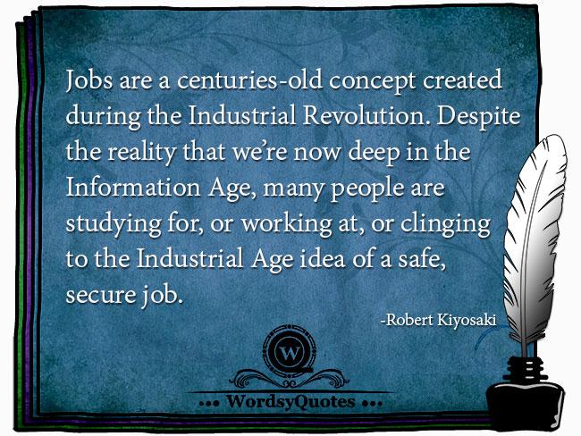 Robert Kiyosaki - age quotes