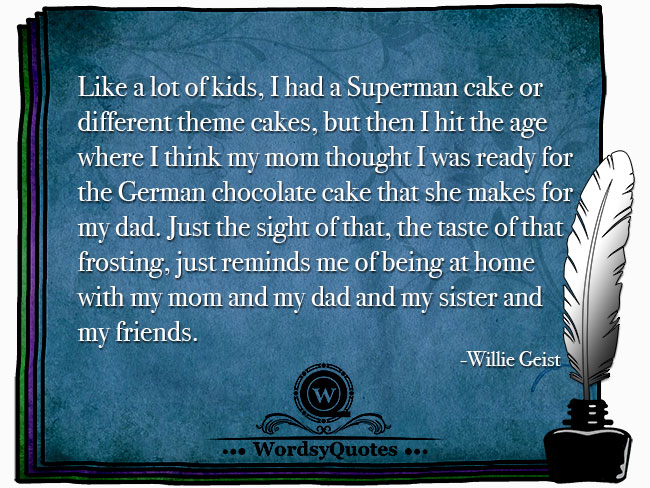 Willie Geist - age or family quotes